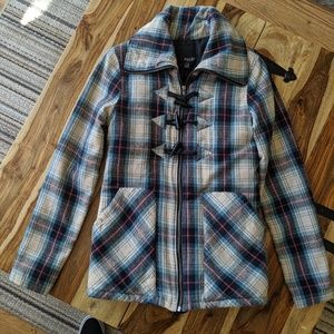 Volcom switch back toggle jacket insulated flannel